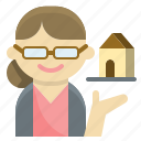 community, convenience, elderly, house, pension, retirement, safety icon
