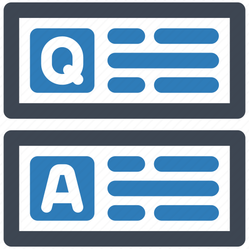 Answer, question, solution icon - Download on Iconfinder