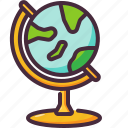 earth globe, globe, maps and location icon