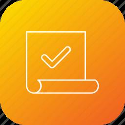 accept, approve, verify, vote, voting icon