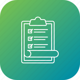 approve, candidate, checklist, election, list, voter, voting icon