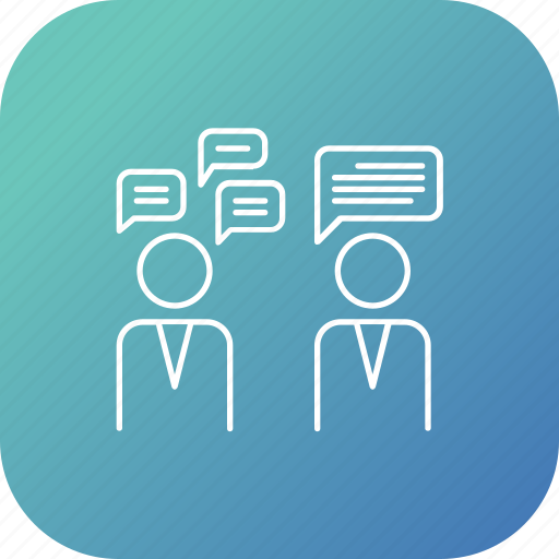 communication, conversation, election, share, talk, thought icon