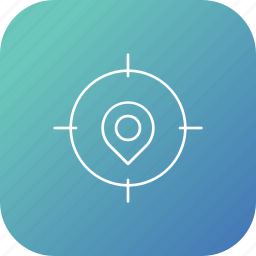 election, location, pin, place, target icon
