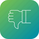 dislike, feedback, negative, thumbsdown, voting icon