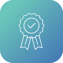 approve, candidate, election, ribbon, voting icon