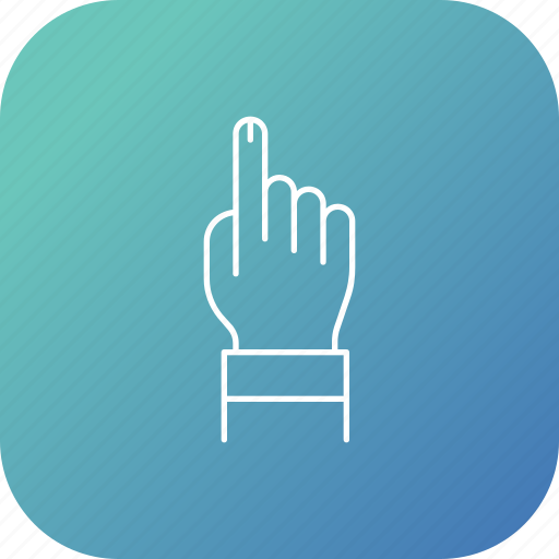 election, finger, sign, vote, voting icon