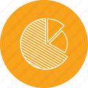 analysis, graph, piechart, poll, voting icon