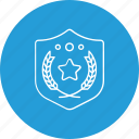 award, safety, shield, winner icon