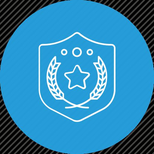 award, safety, shield, winner icon