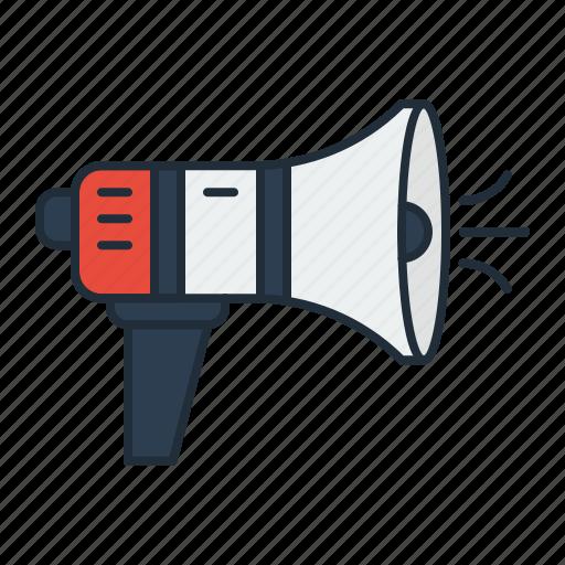 advertisement, announcement, branding, promotion, speaker icon