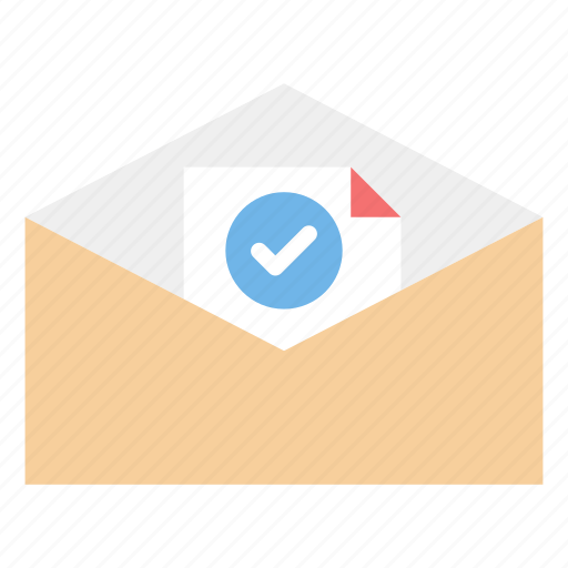 agreement, document, invitation, letter, post icon
