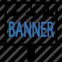 marketing, banner, board, advertisement, sign