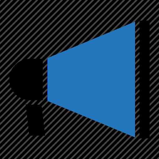 Loudspeaker, marketing, megaphone, bullhorn, advertising icon