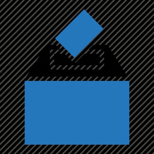 ballot, box, campaign, election, vote icon