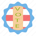 choice, chose, election, selection, vote, voter, voting icon