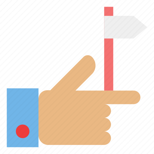 direction, finger, gesture, hand, one, right, swipe icon