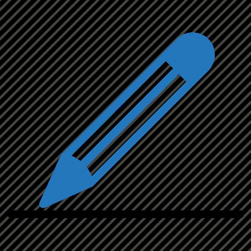 compose, draw, graph, line, pencil, write icon