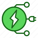 electric, energy, flash, multiple icon