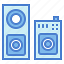 audio, music, speaker, subwoofer icon