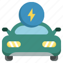 electric, car, eco, ecology, environment, powered, transportation