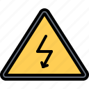 danger, electric, electrical, electrician, electricity, electrification, sign