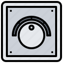 dimmer, electric, electrician, electricity, electrification icon