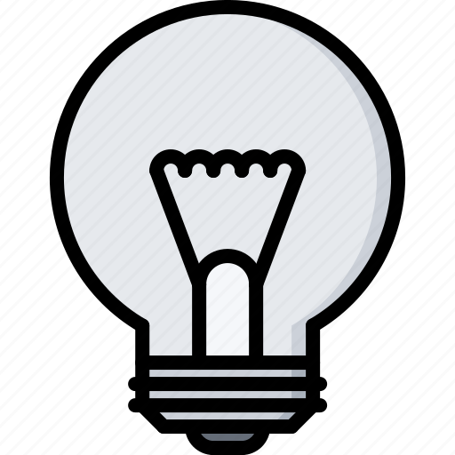 Bulb, electric, electrician, electricity, electrification, light icon - Download on Iconfinder