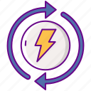 electrical, renovations icon