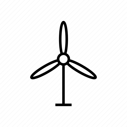 electric, electricity, energy, fan, power, turbine, wind icon
