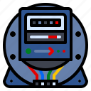 electric, electro, energy, meter, voltage