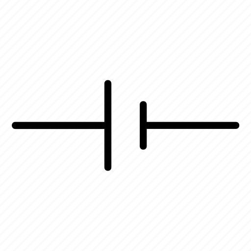 cell, circuit, electric, electrical, electricity, sign, waveform icon