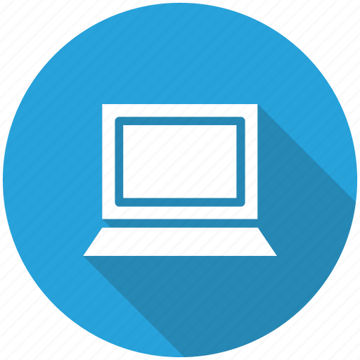 device, laptop, screen, technology icon icon