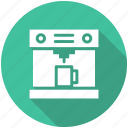 coffee, coffee machine, coffee maker, food icon icon
