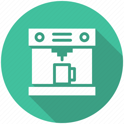 coffee, coffee machine, coffee maker, food icon icon