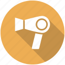 grooming, hair dryer, salon icon icon
