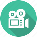 camera, cinema, movie, video icon icon