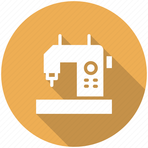 knit, machine, sewing, tailoring icon icon