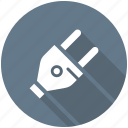 electrical plug, plug, plug connector, plug in, power plug icon icon