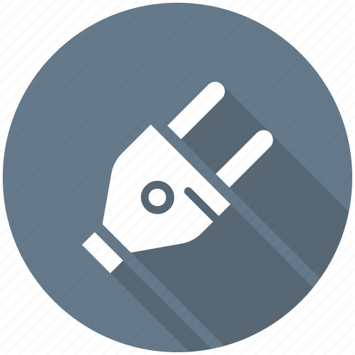 electrical plug, plug, plug connector, plug in, power plug icon icon