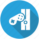 controller, game, gamepad, joystick icon icon