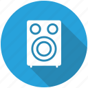hifi, music, note, speaker icon icon