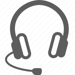 headset, microphone, skype icon