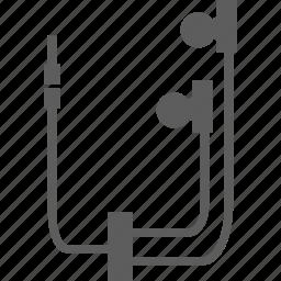 headset, mp3, skype icon