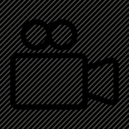 camera, electronic, film, media, movie, recorder icon