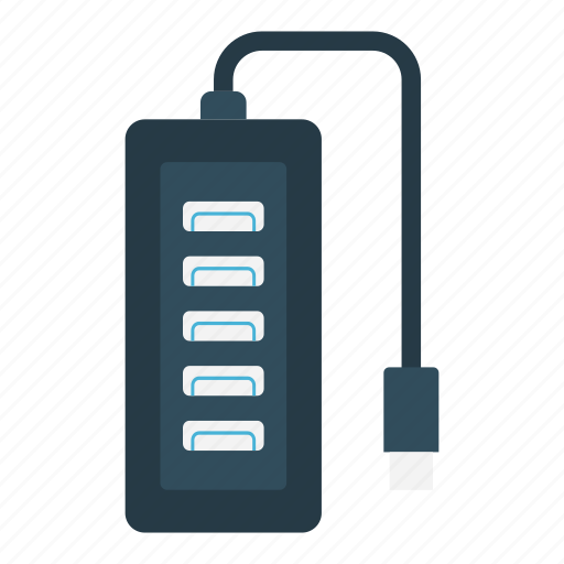Adapter, electric, electronics, machine, usb icon - Download on Iconfinder