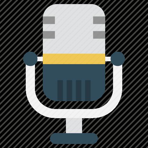 electronics, mike, recorder, speaker, voice icon