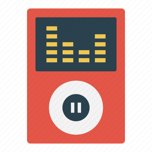 Audio, device, electronics, gadget, player icon - Download on Iconfinder