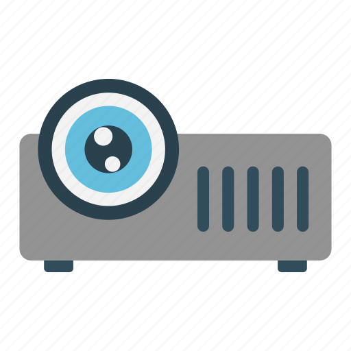Beamer, device, electric, electronics, projector icon - Download on Iconfinder