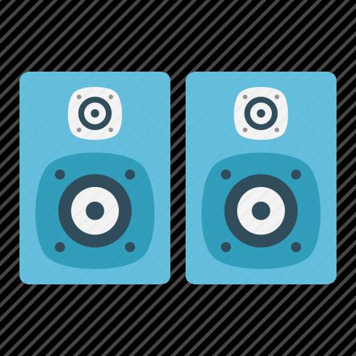 Audio, electronics, hardware, speaker, woofer icon - Download on Iconfinder