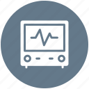 health, hospital, medical, monitor icon icon